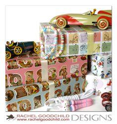 Children's gift wrap