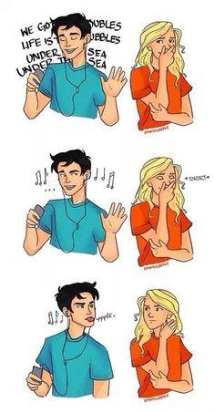 *Percy *Annabeth