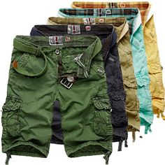 Men Fashion Style Cargo Shorts at Sneak Outfitters http://www.sneakoutfitters.com/Summer-2013/Men-Fashion-Style-Cargo-Shorts-p3836.html