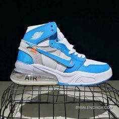 separation shoes bcace beb29 Off-White X Nike Air Jordan 270 High Women Men Sneaker Shoes New Style