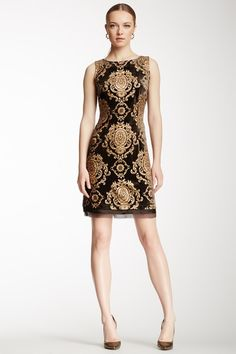 Baroque Shift Dress by Alexia Admor on @HauteLook