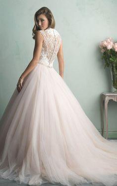 Find this gown at Something Blue Bridal Schererville, IN #WeddingGown #BallGown #BridalButtons #GorgeousBack #NWIBride #Bridal #Bride