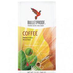 Bulletproof French Kick Whole Bean Dark Roast Coffee 12oz