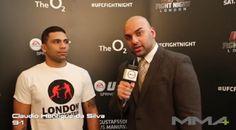 UFC Fight Night London: Claudio Henrique da Silva Pre Fight Interview