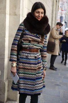 Vintage Missoni: that coat!