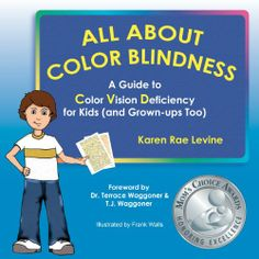 Corey, a fourth-grader, explains how his color deficiency caused problems in kindergarten. Along the way Corey learns about the special way he sees colors. Written by a parent, advised by an optometrist