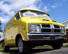 70's custom Dodge van..vk