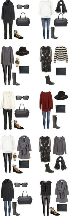 What to Wear in Glasgow, Scotland outfit 11-20 #packinglight #travellight #traveltips