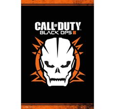 Call of Duty Poster Black Ops III Skull. Hier bei www.closeup.de