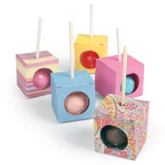 Sizzix Bigz L Die Box Cake Pop