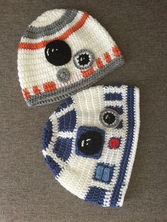 Crochet Hats For Boys, Crochet Baby Hats, Knitted Hats, Baby Hat Patterns, Baby Knitting Patterns, Crochet Patterns, Star Wars Crochet, Crochet Stars, Crochet Cap