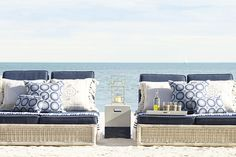 Pacifica Double Chaise | Serena & Lily