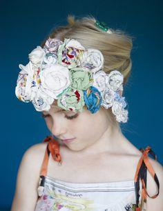 Sweet Nixie rosette hairbands for girls fashion summer 2012 :via smudgetikka