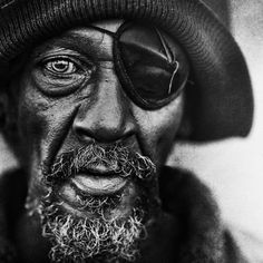 "500px / Photo ""Skid Row, LA"" by Lee Jeffries Magnificent photo, what a subject for and etching"