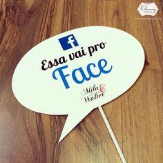 Plaquinhas divertidas www.charmingpaper.com.br: