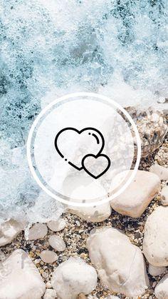 #HIGHLIGHTLAYER Wallpaper Iphone5, Qhd Wallpaper, Heart Wallpaper, Aesthetic Iphone Wallpaper, Wallpaper Backgrounds, Instagram Logo, Free Instagram, Instagram Story Ideas, Instagram Feed