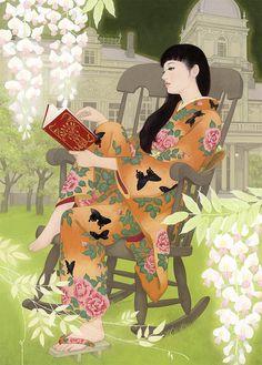 """""""El jardín de la ilusión"""", de Miki Katoh. vía Satori Ediciones"""