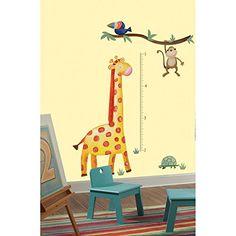 RoomMates RMK2141GM  Jungle Adventure Giraffe Peel and Stick Growth Chart RoomMates http://www.amazon.com/dp/B00B7GVS5W/ref=cm_sw_r_pi_dp_E1ikub0H0VM5Q