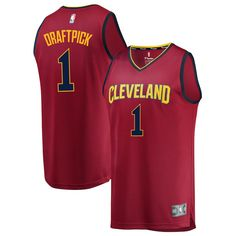 a1336fb0a Collin Sexton Cleveland Cavaliers Fanatics Branded Youth 2018 NBA Draft  First Round Pick Fast Break Replica Jersey Wine – Icon Edition