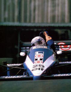 1986,Monaco. René Arnoux (Ligier)