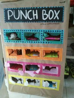 Fundraiser idea...have dollar amount written on 'boxes' and people pay to punch it for the prize...$$goes to fund.
