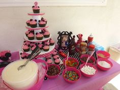 minnie mouse birthday party <3