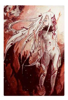 by cielomerde on DeviantArt Deadman Wonderland, Shiro, Anime Nerd, Manga Anime, Naruto Oc, Neon Genesis Evangelion, Manga Characters, Dead Man, Yandere