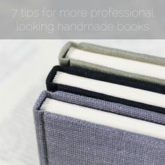 paperiaarre   7 tips for more professional looking handmade books   http://www.paperiaarre.com