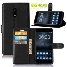 SZYHOME Phone Cases For Nokia Lumia 520 530 535 620 625 630 730 830 925 930 929 1020 1320 1520 PU Leather Wallet Flip Cover Case #Affiliate