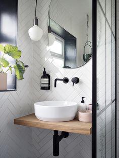 Bathroom Renos, Small Bathroom, Tiny Bathrooms, Bathroom Basin, Sink Shelf, Toilet Room, Toilet Sink, Small Toilet, Downstairs Toilet