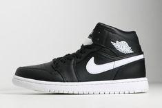 51904ed4c7c0bf Buy Air Jordan 1 Retro Mid Black White 554724-038 Mens Shoes Sneakers Black  And. Jordans 2019 Cheap