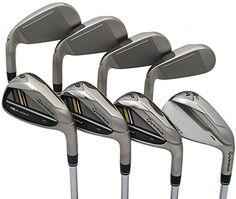 TaylorMade Golf Men's RocketBladez High Launch Iron Set: Steel, Right Hand, Stiff