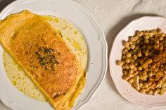 Chickpeas and Omelette #1