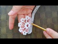 Find Great Deals For 3 Meters Vintage Em - Diy Crafts - Marecipe Col Crochet, Crochet Edging Patterns, Crochet Lace Edging, Crochet Motifs, Filet Crochet, Crochet Designs, Crochet Flowers, Hand Crochet, Diy Crafts Crochet