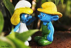 smurf  #toyphotography #smurf #miniatur #figure #canon #blue