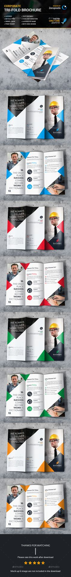 Trifold Brochure Template PSD. Download here: http://graphicriver.net/item/trifold/15941498?ref=ksioks