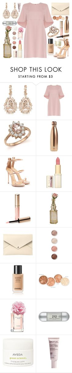 """Girls will understand*"" by fashion-choice ❤ liked on Polyvore featuring Suzanne Kalan, Valentino, Bloomingdale's, S'well, Giuseppe Zanotti, L'Oréal Paris, By Terry, Cultural Intrigue, Louis Vuitton and Terre Mère"