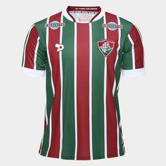 A Camisa Dryworld Fluminense I 2016 s/nº - Torcedor Vermelho e Verde exalta a tradição do Tricolor das Laranjeiras e veste o torcedor do Flu de garra para torcer. | Netshoes