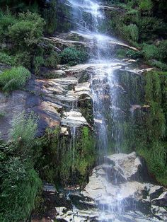 Waterfall in District Kohistan, Pakistan #pakistan