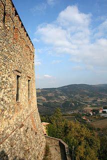 View from the Castle of #Zavattarello