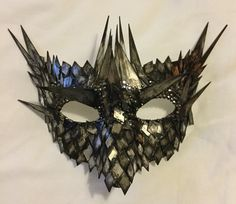 A personal favourite from my Etsy shop https://www.etsy.com/uk/listing/263668302/dragon-armour-venice-carnival-mirror