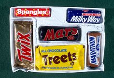 Mars Christmas Selection Box 1971. Spangles! Marathon (Snickers)!