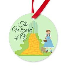 17 Beautiful Wizard of Oz Christmas Ornament Gifts @ http://www.cafepress.com/epiclove/s_wizard-of-oz_ornaments