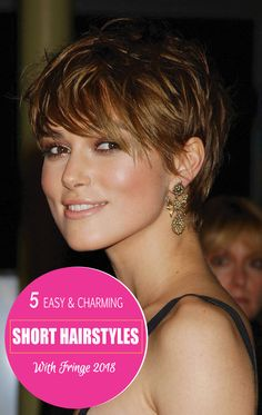 If you Are looking forward to change your look But afraid of doing what can be done that will make you to look different but prettier. Short hairstyle is a popular form of styling your hair. Look at this 5 Easy & Charming Short Hairstyles With Fringe 2018. Don't miss out! #hairstraightenerbeauty #ShortHairstylesWithFringe #ShortHairstylesWithFringepixiecuts #ShortHairstylesWithFringebangstyles #ShortHairstylesWithFringeover50 #ShortHairstylesWithFringethinhair #ShortHairstylesWithFringebangs