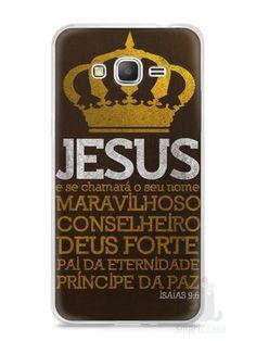 Capa Samsung Gran Prime Jesus #4