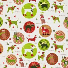 dog christmas wrapping paper | Canine Christmas Paper from The Container Store