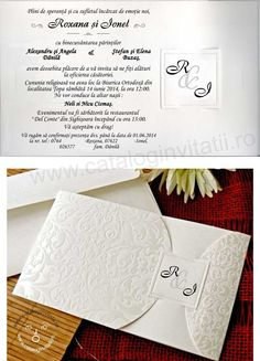 invitatie nunta cod 32720 Place Cards, Wedding Invitations, Place Card Holders, Wedding Dresses, Bride Dresses, Bridal Gowns, Wedding Invitation Cards, Wedding Dressses