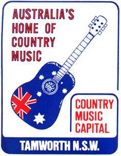 Home of Australian Country Music Tamworth, NSW Tamworth Country Music Festival, Tamworth Nsw, Music Tickets, Australia Country, Country Music Awards, Air B And B, Vintage Tins, Australia Travel, Good Old