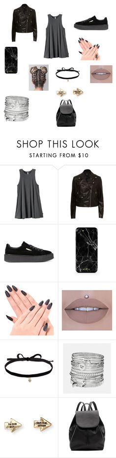 """""""Sem título #255"""" by kamillylima ❤ liked on Polyvore featuring RVCA, Puma, Joomi Lim, Avenue, Aéropostale and Witchery"""