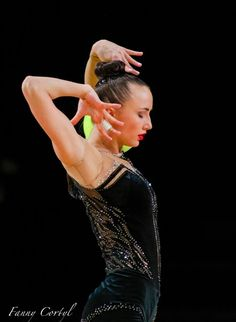 Ganna Rizatdinova (Ukraine) got 18.566 points for ball at Qualifications, Olympic Games 2016